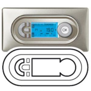 THERMOSTAT D'AMBIANCE ENJ.TITA THERMOSTAT PROGRAM. LEGRAND 068542 (blanc
