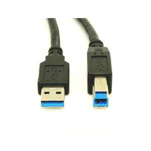 CÂBLE INFORMATIQUE LCS - Câble USB 3.0 Type B vers USB