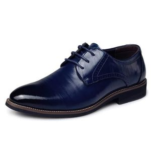c67ca3342291f4 MOCASSIN DADAWEN Homme Classique Commercial Leather Chaussu