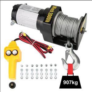 TREUIL AUTO treuil électrique capacité de charge compacte jusq