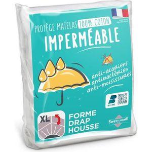 PROTÈGE MATELAS  SWEETHOME Protège-matelas 100% coton - Imperméable