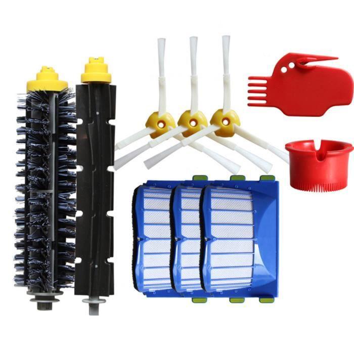 Accessoires de Aspirateur robot Kit de pièces de rechange pour robots s iRobot Roomba série 600 @sun269