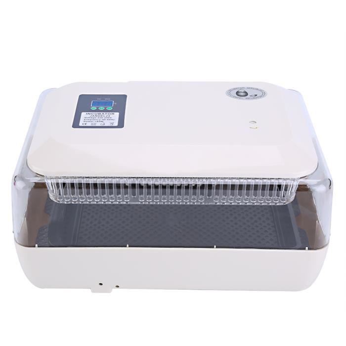 Incubateur JANOEL 24 220V PC + ABS Qualité, bonnes performances AR HB020-RAI