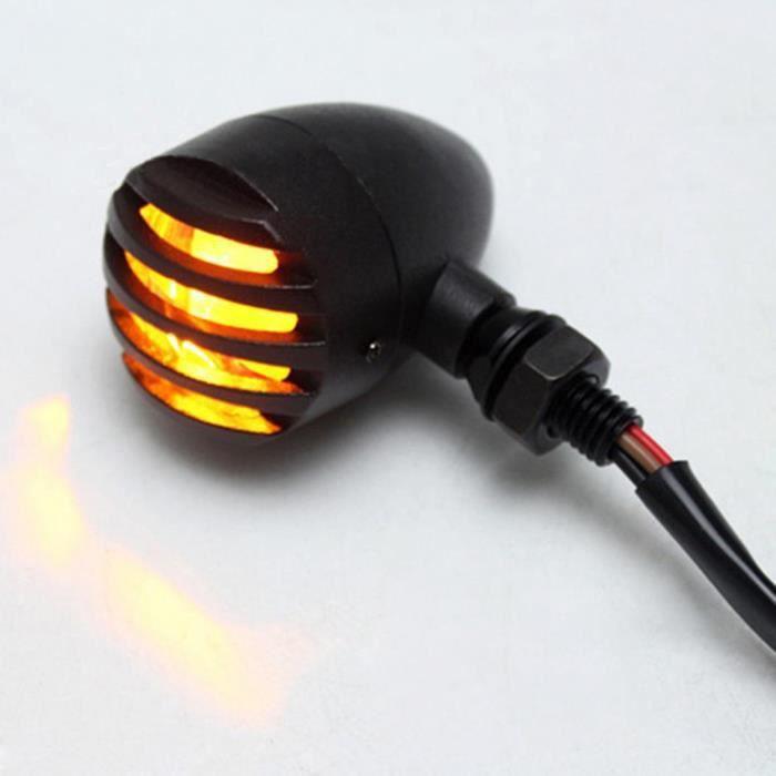 Motodak Clignotant tunr Rocket Noir a Ampoule Homologue ce pr