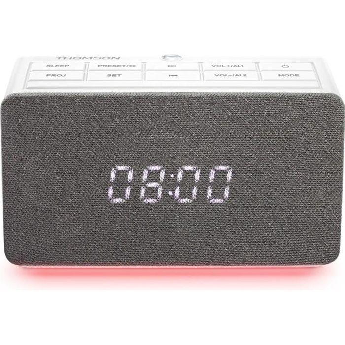 Radio réveil avec projecteur CL301P Thomson