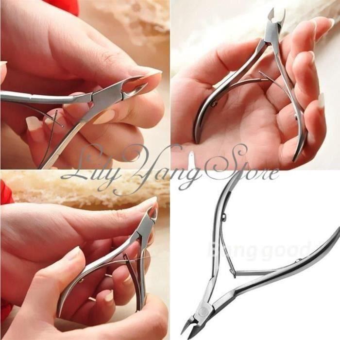 Pince à Envies Coupe Cuticule Ongle Manucure Acier Inox SA36800