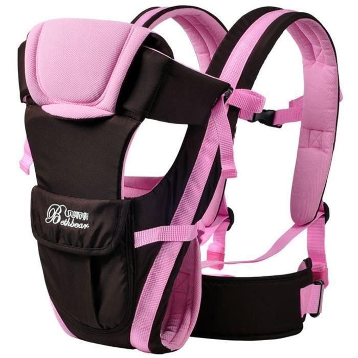 Nouveau-né Porte bébé réglable Sling Wrap Baby Carrier sac à dos*SQ
