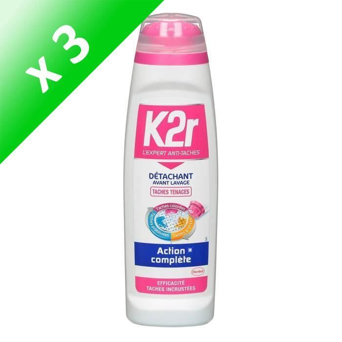 K2R Détacheur Applicateur - 250 ml (Lot de 3)