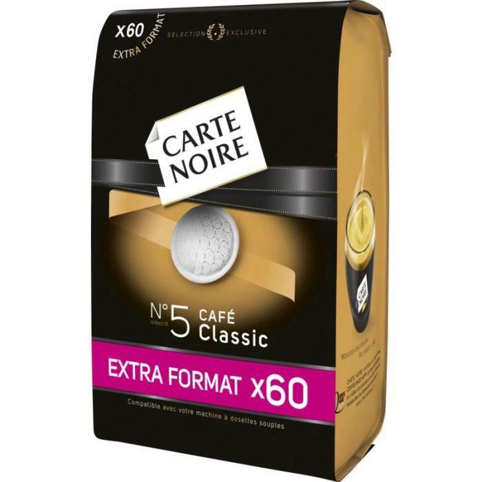 CARTE NOIRE Café Dosettes Intensité 5 x60