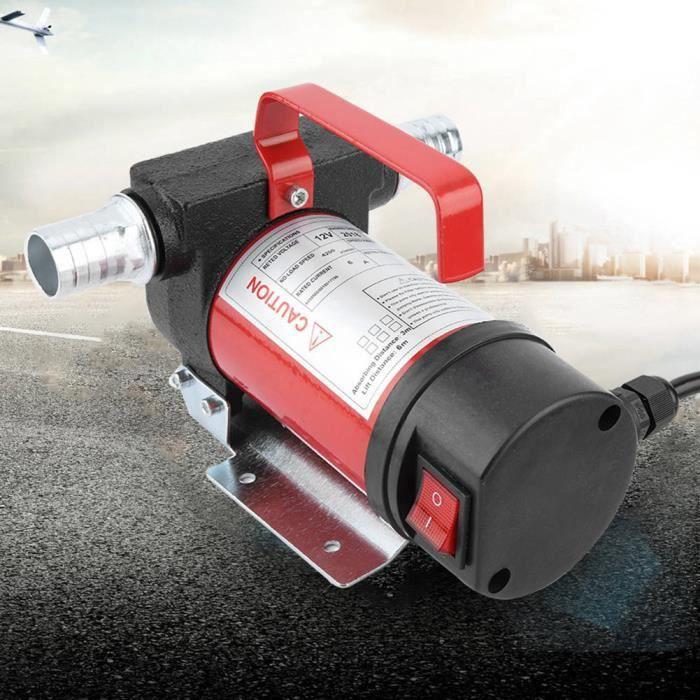 Rumeng©Cuque 12V 160W Pompe d'Aspiration d'Huile Portable 40L/Minute Pompe de Transfert Diesel/Huile pour Quad Auto Moto
