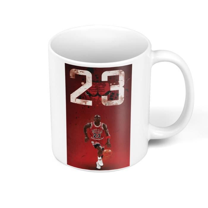 Mug Céramique Michael Jordan 23 Chicago Bulls Basket Superstar GOT