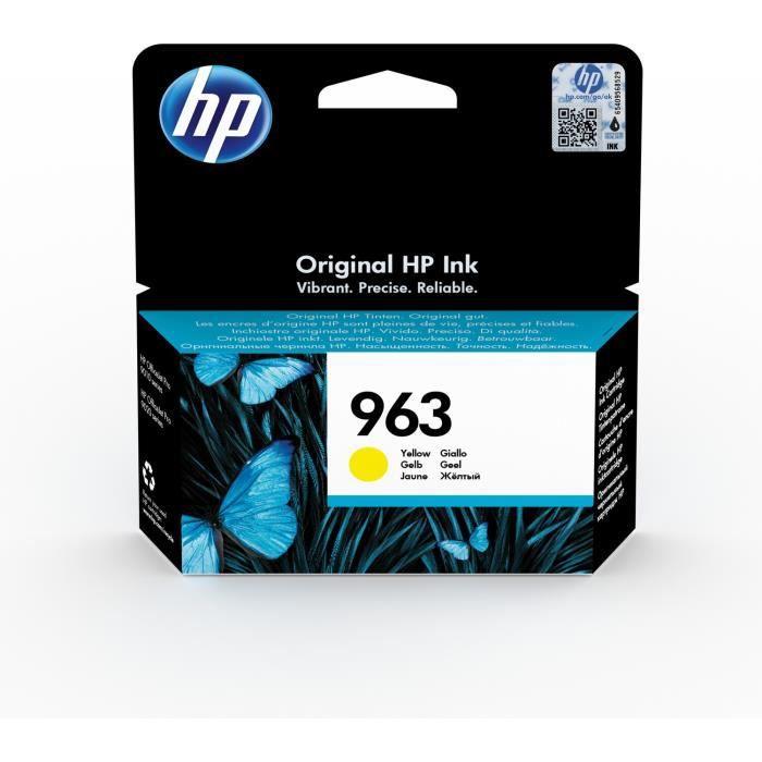 HP 963 Cartouche d'encre jaune authentique (3JA25AE) pour HP OfficeJet Pro 9010 series / 9020 series