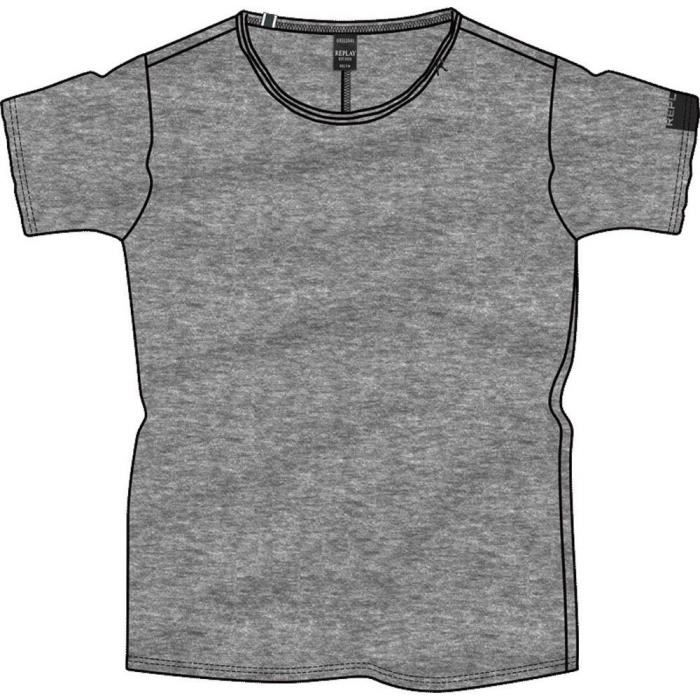 vêtements homme t-shirts replay m3590. composition: 100% coton.