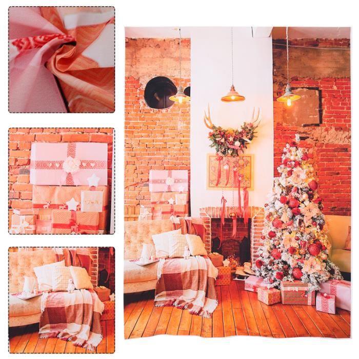 1PC Studio de Noël Accenture décorative Toile de pendaison Décor pour Bar KTV fond de studio studio photo - eclairage