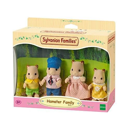SYLVANIAN FAMILIES Families-5121 Family Famille Hamster SYLVANIAN, 5121, Multicolore, Norme 5121