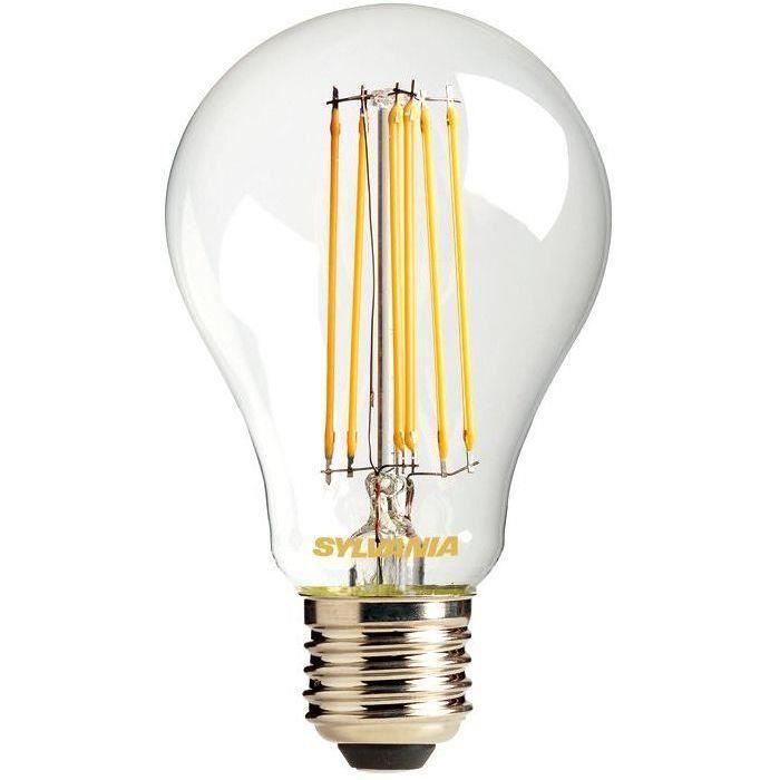 Led standard filament 1531lm E27 chaud en blister