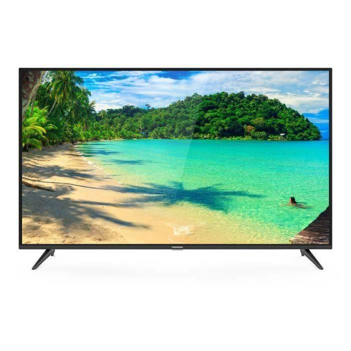 THOMSON 65UV6006 TV LED UHD 4K HDR - 65- (165cm) - Smart TV - 3 X HDMI - Classe énergétique A+