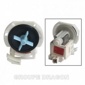 Pompe de vidange dolphin pour lave vaisselle WHIRLPOOL Modèles d'appareils compatibles: ADG8573 4812