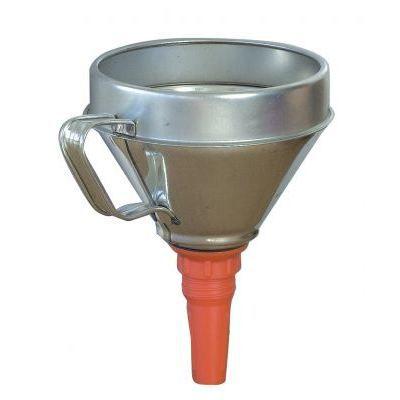 ENTONNOIR DE VIDANGE Entonnoir fer + filtre diamètre 160 mm
