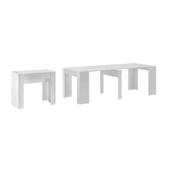 ALLONGE DE TABLE Table Console de salle à manger extensible jusqu'à