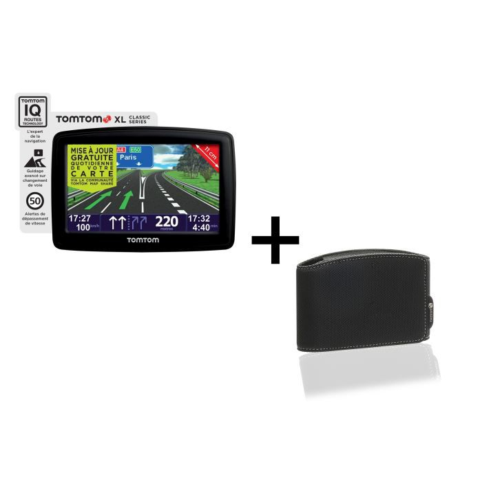 gps tomtom xl classic europe nf housse achat vente. Black Bedroom Furniture Sets. Home Design Ideas