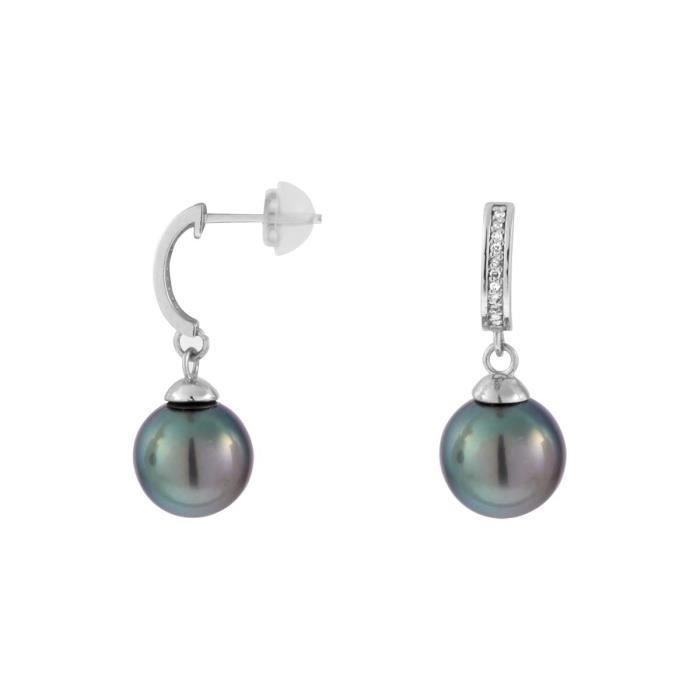 Boucle d'oreille Boucles d'oreilles CLEOR Or 375/1000 Perle