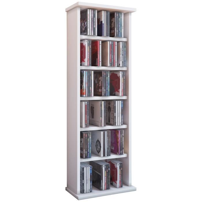 vostan tour rangement biblioth que cd dvd 150 cd ch ne sans portes vitr s achat vente. Black Bedroom Furniture Sets. Home Design Ideas