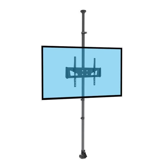 FIXATION - SUPPORT TV Support colonne sol-plafond pour écran TV LCD LED