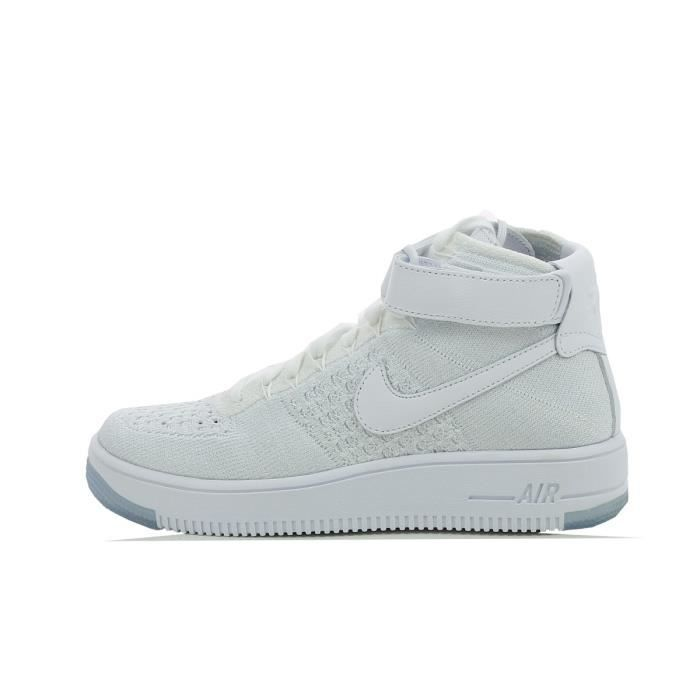 BASKET Basket Nike Air Force 1 Ultra Flyknit - 818018-100