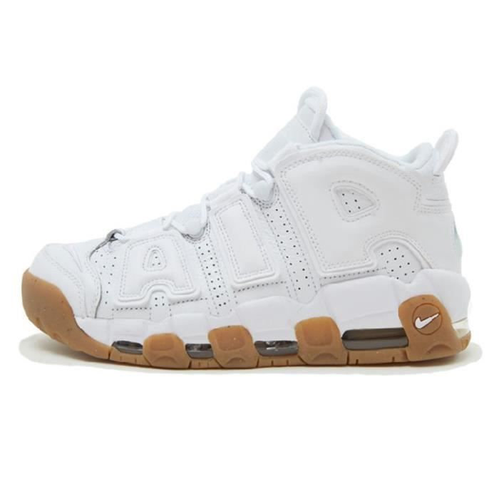 nike air more uptempo blanche femme