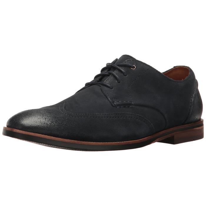 Clarks Broyd Wing Oxford Q1W01 Taille 44 Bleu Bleu Achat