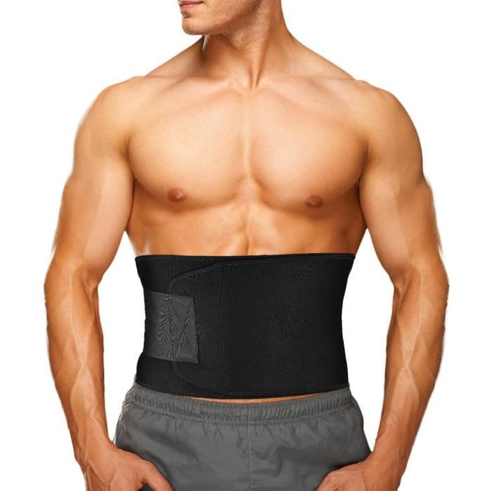 Poids de levage ceinture fitness gym entraînement néoprène double support bretelles orange
