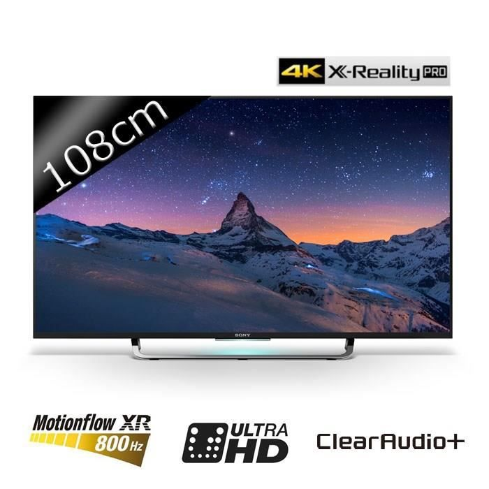 sony kd43x8305 smart tv led uhd 4k 108cm 43. Black Bedroom Furniture Sets. Home Design Ideas