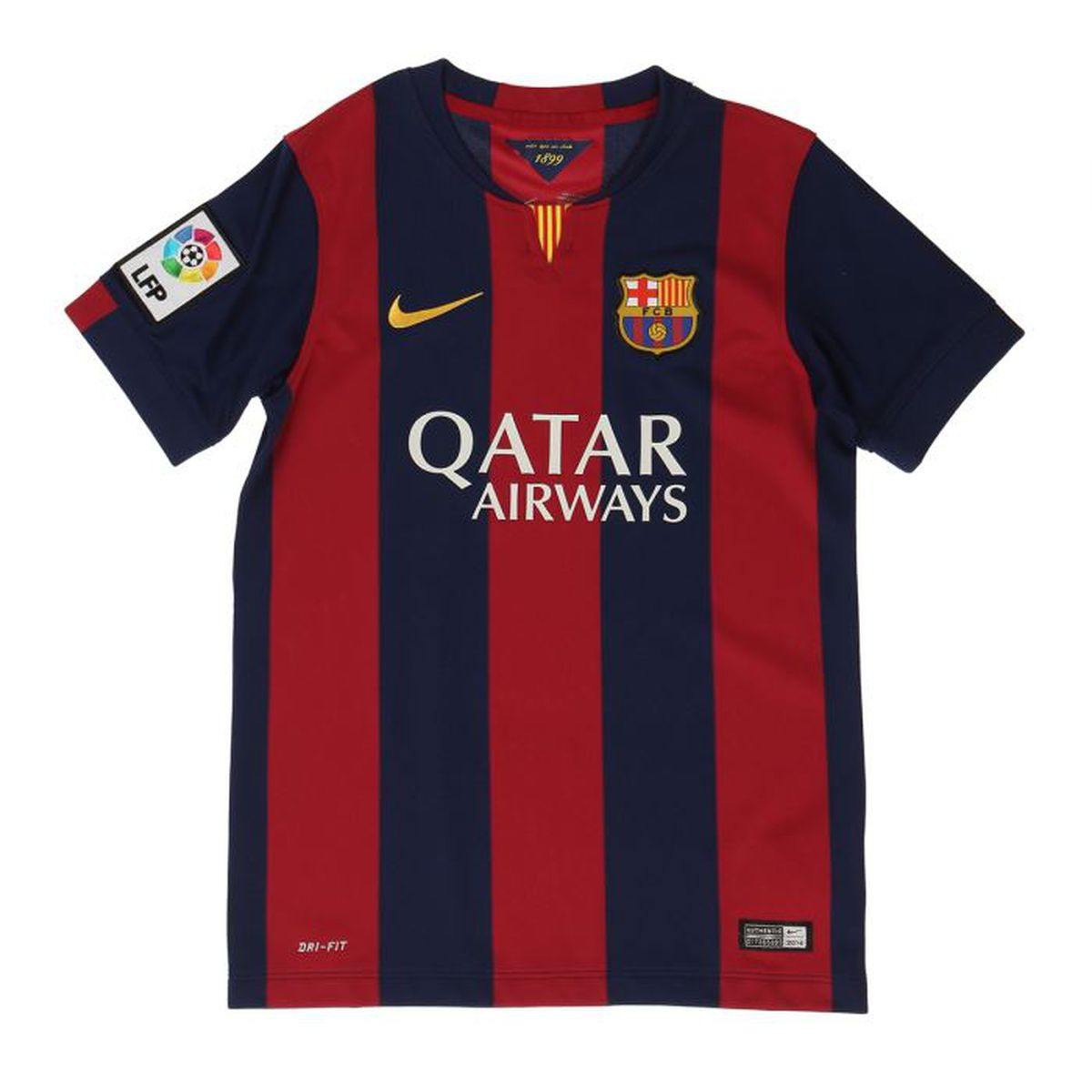 nike maillot football replica fc barcelone gar on prix pas cher cdiscount. Black Bedroom Furniture Sets. Home Design Ideas