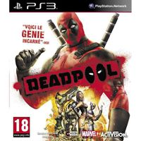 JEUX PLAYSTATION 3 X MEN DEADPOOL / Jeu console PS3