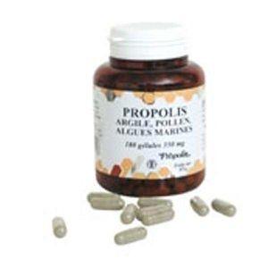TONUS - VITALITÉ Gélules propolis argile, pollen & algues marine…