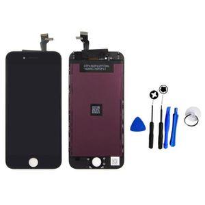 ECRAN DE TÉLÉPHONE Ecran LCD et Vitre tactile - iPhone 6S noir + outi
