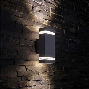 Design extérieur éclairage Mural De Crépuscule Capteur DEL numéros ip54