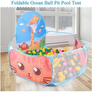 PISCINE À BALLES Enfants jouer tente pliable Ocean Ball intérieur e