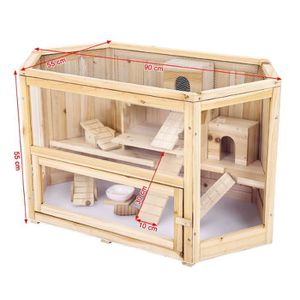 cage bois hamster achat vente cage bois hamster pas. Black Bedroom Furniture Sets. Home Design Ideas