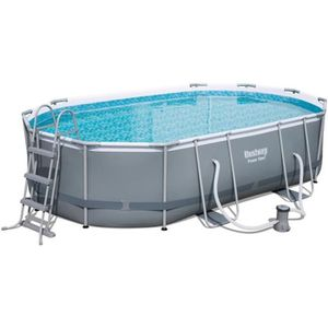 Piscine autoport e achat vente piscine autoport e pas cher french days d s le 27 avril - Piscine tubulaire ovale ...
