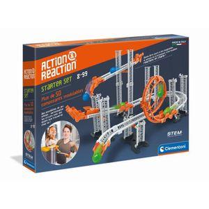 ASSEMBLAGE CONSTRUCTION CLEMENTONI Action & Réaction - Starter set