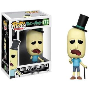 FIGURINE - PERSONNAGE Figurine Funko Pop! Rick et Morty : Mr. Poopy Butt