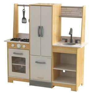 DINETTE - CUISINE KIDKRAFT - Cuisine enfant en bois Modern-Day avec
