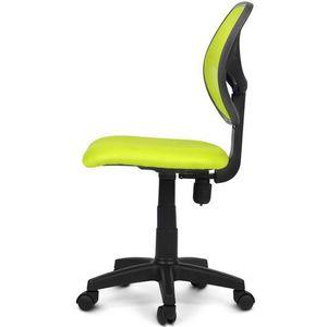CHAISE DE BUREAU Chaise de bureau avec dossier en maille en vert