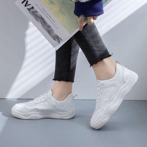 BASKET Mode féminine Chaussures Casual en cuir suédé Plat