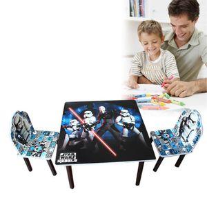 TABLE ET CHAISE Ensemble Table Et 2 Chaises Pour Enfants- Multicol