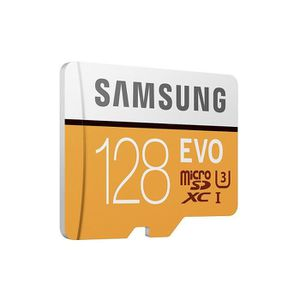 CARTE MÉMOIRE Samsung carte mémoire Micro SD SDXC Evo 128Go 100M