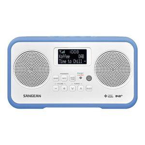 RADIO CD CASSETTE Radio numérique SANGEAN DPR-77 DAB+ Red