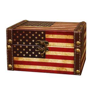 Couleur bronze Pour petite bo/îte /à bijoux Lot de 4 verrous vintage BQLZR valise ou meuble 28 x 23 mm